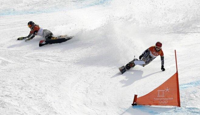 XXIII Ziemas olimpisko spēļu rezultāti snovbordā sievietēm paralēlajā milzu slalomā (24.02.2018.)