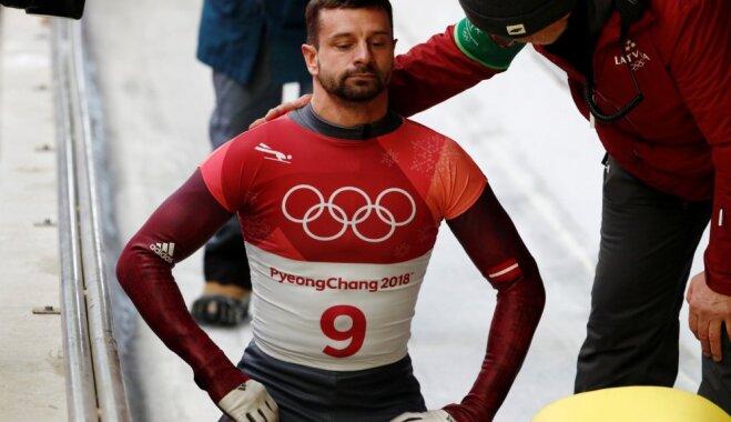 Скелетонист Мартин Дукурс остался без медали на Олимпиаде в Пхенчхане