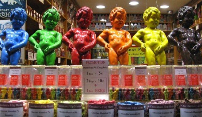 Beļģija - lielvalsts šokolādes ražotāju pasaulē