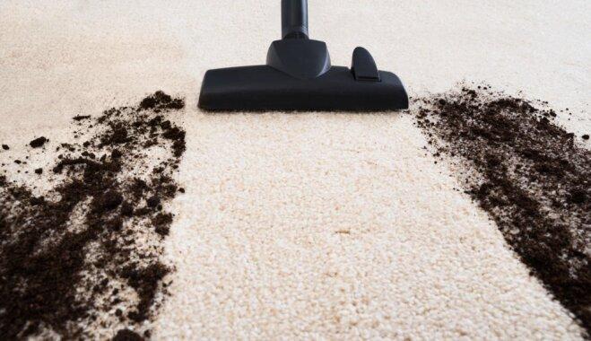 Pa gabalu ar putekļusūcēju – gruži, ko labāk tīrīt ar citiem palīgrīkiem