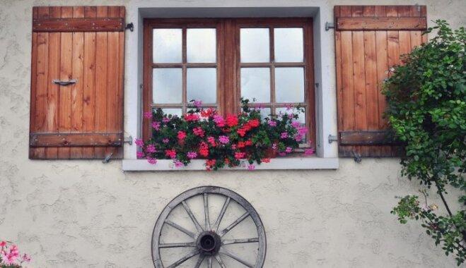 Vienkāršā romantika: idejas, ko aizņemties lauku mājas uzfrišināšanai