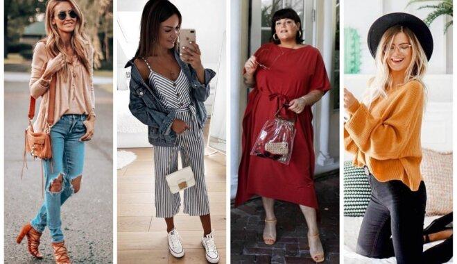 Septembra modes salikumi: 30 tērpu idejas katrai mēneša dienai