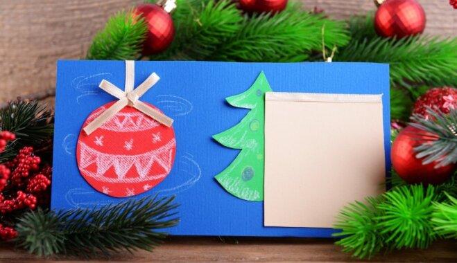 Kādas Ziemassvētku kartītes ir modē šogad?