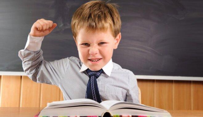Bērnudārza vadītāja: stresa un slodzes ietekmē sešgadnieki skolā kļūst nežēlīgāki un dusmīgāki