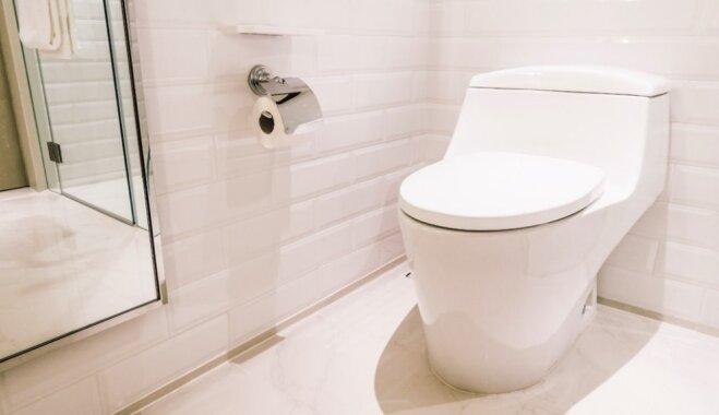 Krasas.lv iesaka: 'Skaistā vidē dzīvot nav dārgi!' Neparastas pārmaiņas tualetei
