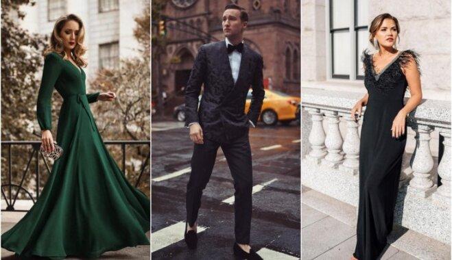 Ko tērpt vecgada vakarā? Neatvairāmas kleitas un uzvalki gadu mijas svinībām