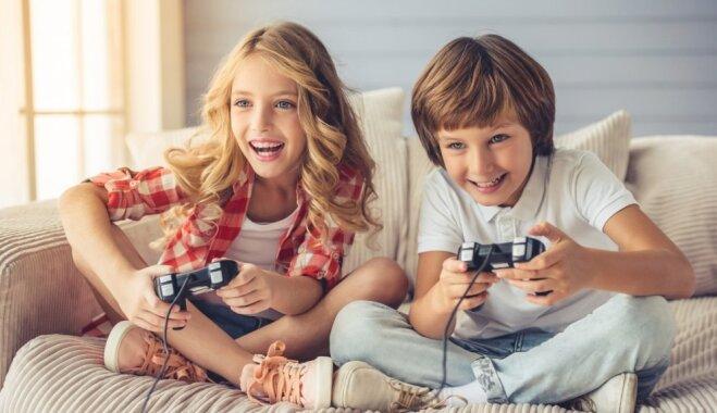 Bērns un videospēles: kādas pozitīvas prasmes un iemaņas tās var iemācīt