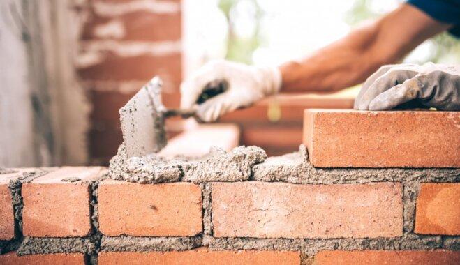 Klupšanas akmeņi sapņu mājas būvniecībā