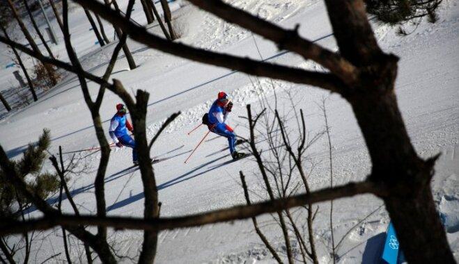 XXIII Ziemas olimpisko spēļu rezultāti distanču slēpošanas sprintā (13.02.2018.)