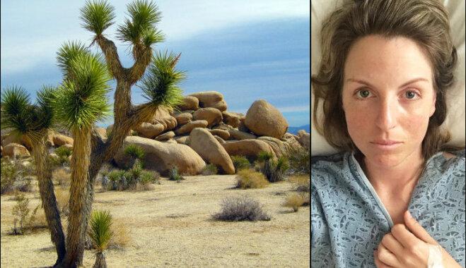 Четыре дня невыносимого ужаса: история спасения туристки в пустыне