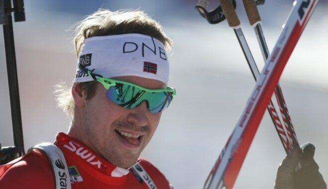 Norvēģijas olimpiskais karognesējs būs biatlonists Svendsens