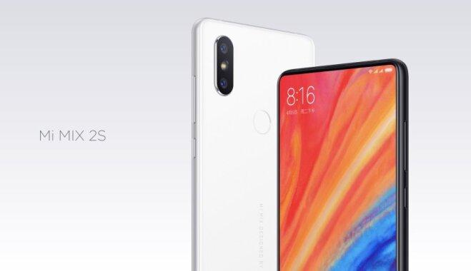 """Xiaomi представила беззастенчиво """"содранный"""" с iPhone X смартфон Mi Mix 2S; продает по """"вкусной"""" цене"""