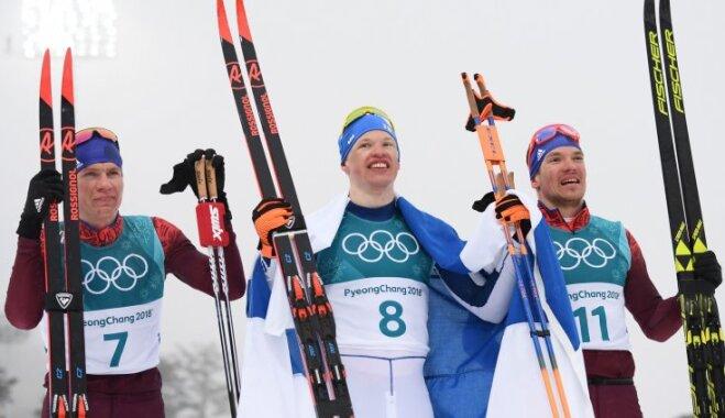 Александр Большунов установил рекорд поколичеству олимпийских наград среди сограждан