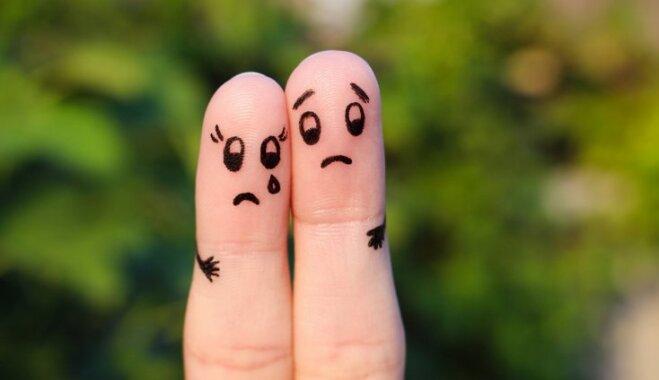 Beidz pinkšķēt! Kāpēc stiprais dzimums baidās no sieviešu asarām