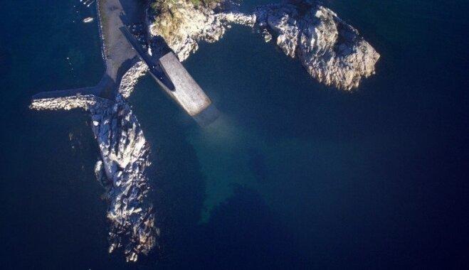 Norvēģijā top zemūdens restorāns, kas būs pirmais Eiropā un vislielākais pasaulē