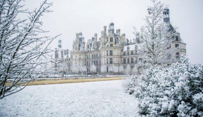 Foto: Smalkā ziemas glezna Ziemeļfrancija
