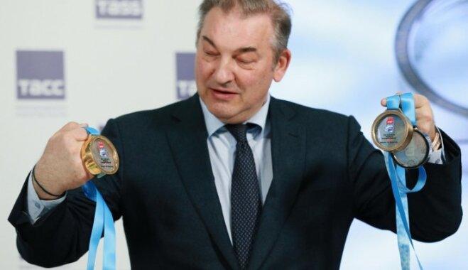 SOK Krievijas Hokeja federācijas prezidentam Tretjakam atļauj doties uz Phjončhanu