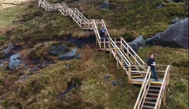 Tu un daba: pastaigu taka Ziemeļīrijā ar pārsteidzošu apkārtnes ainavu