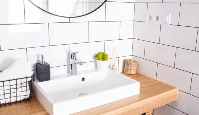 Dizaineres padomi, kā iekārtot vannasistabu atturīgajā skandināvu stilā