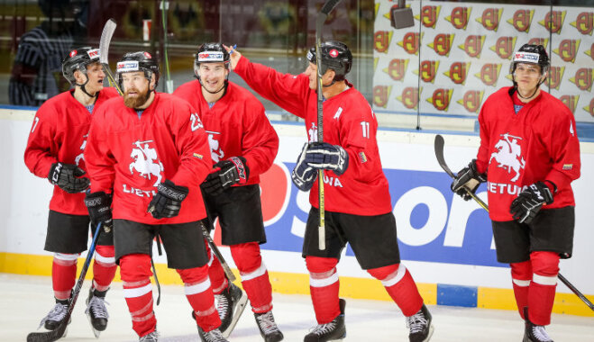 Lietuvas hokeja izlase par tiesībām spēlēt elitē cīnīsies Kazahstānā