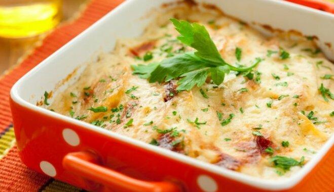 Kartupeļu gratin
