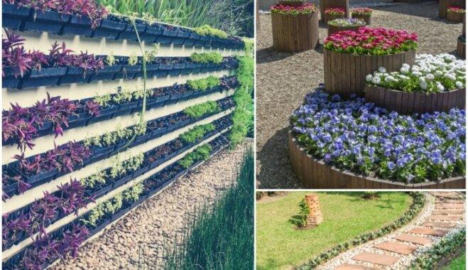 12 radošas idejas, kas noderēs ikvienam dārza īpašniekam