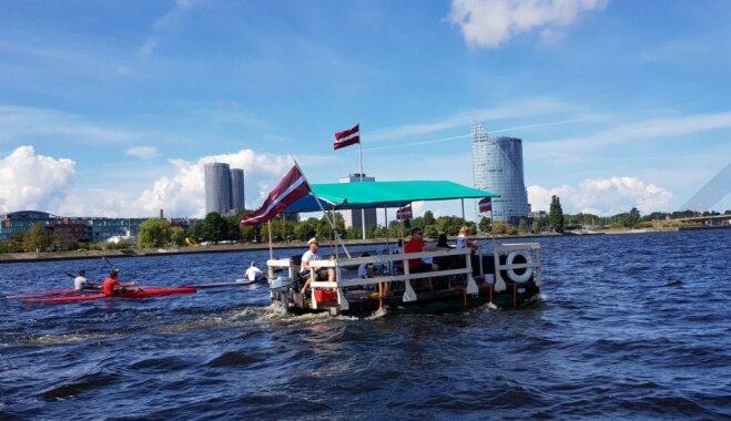 Впервые будет создана карта маршрута водного туризма на протяжении всей Даугавы