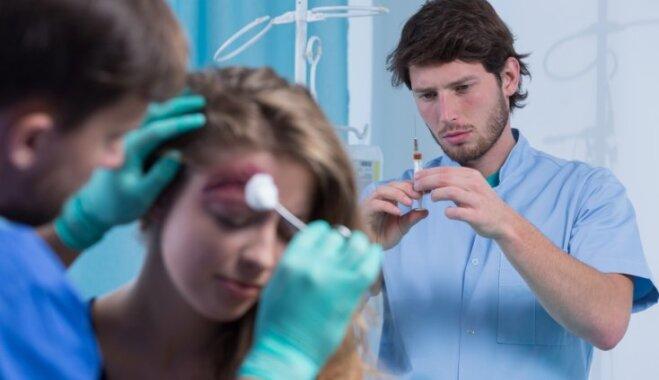 Smadzeņu satricinājums vai asinsizplūdums – speciālista ieteikumi galvas traumu gadījumā
