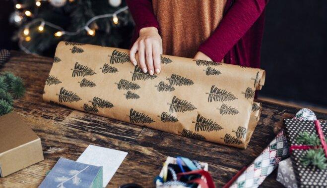 Cilvēkiem vairāk patīk dāvanas, kas nav perfekti iesaiņotas, liecina pētījums