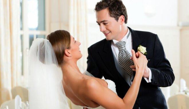 Tik svarīgais mirklis - kāzu valsis