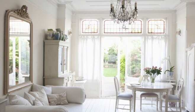 Mājīguma klātbūtne interjerā: idejas 'rustic' stila noskaņai