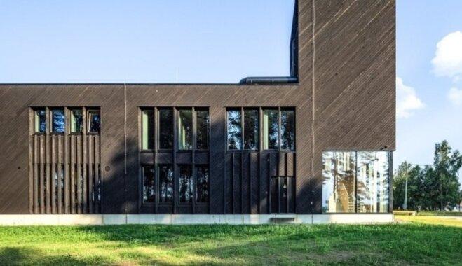 Foto: Igaunijā izvēlēta labākā koka ēka šajā gadā