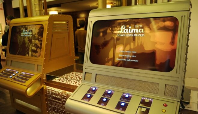 За первый месяц музей шоколада фабрики Laima посетили свыше 2500 человек