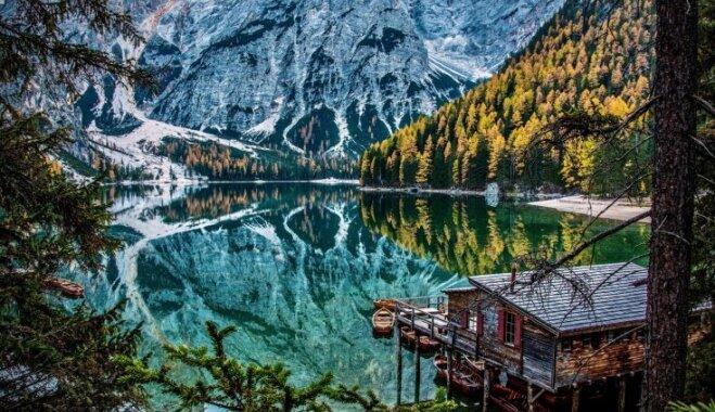 Pastkartes cienīgi skati: septiņi Itālijas dabas brīnumi