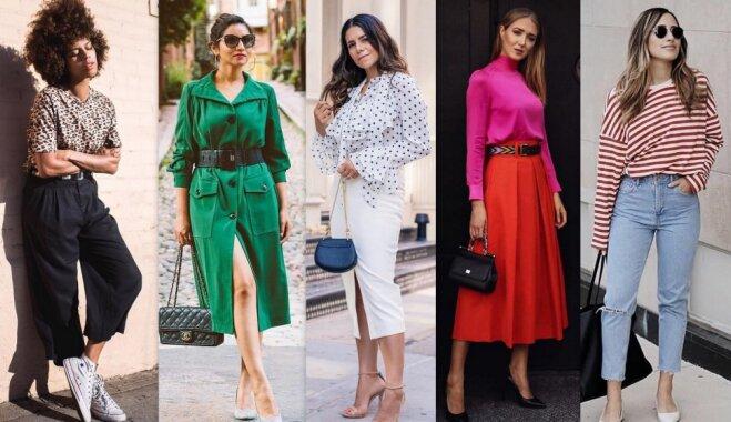 Septembra modes salikumi: viegli atdarināmas tērpu idejas katrai mēneša dienai