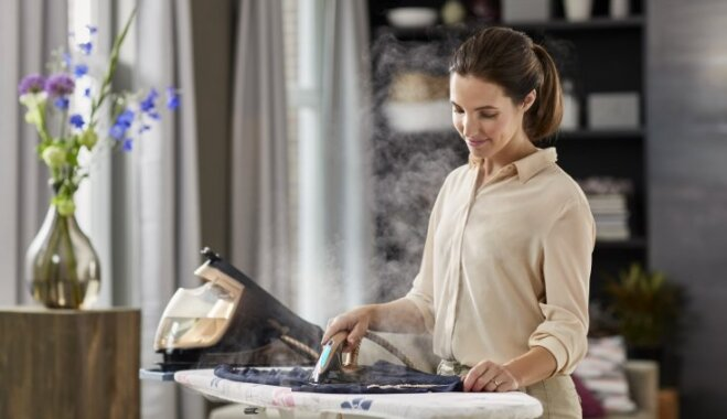 Noslēdzies 'Philips' konkurss par tvaika ģeneratora gludekli