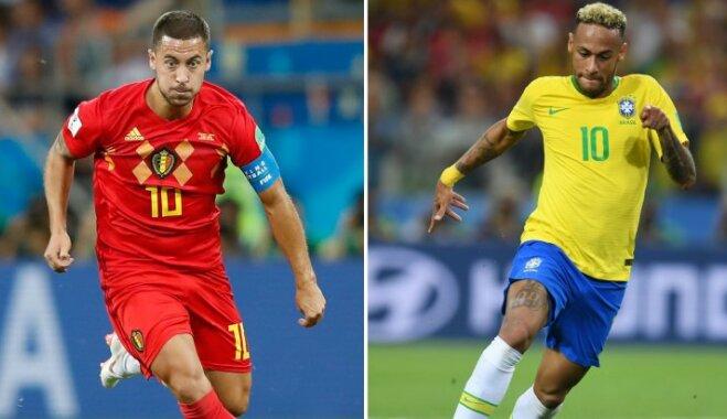 Уругвай — Франция, Бразилия — Бельгия: на ЧМ-2018 определятся первые полуфиналисты