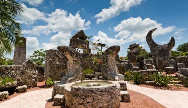 Būvēta latvieša rokām – apbrīnojamā Koraļļu pils Maiami