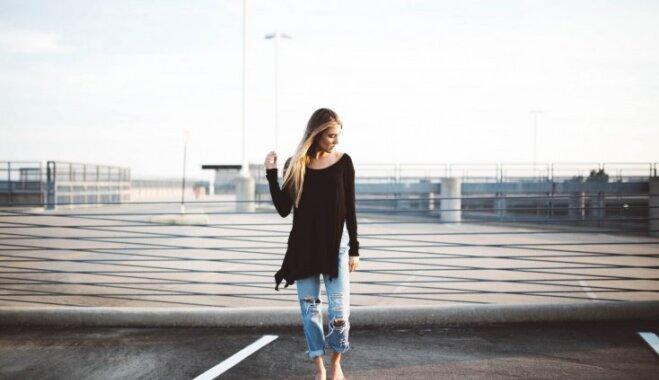 Garderobes triki: kā apslēpt apaļīgo vēderiņu