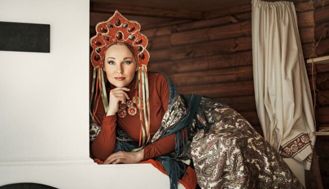 Круг женской силы. Многодетная мама Алена Гурьянова проведет в центре Риги флешмоб женственности
