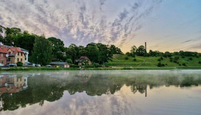 Foto: Vasaras pilnbrieda rīts Talsos, un trīs talsenieka ieteikumi, ko tur apskatīt