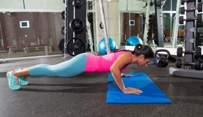 Piecu minūšu treniņš visam ķermenim lieko kilogramu rucināšanai