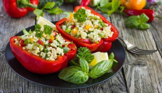 Vitamīniem pārbagātā paprika: 20 idejas, kā to iekļaut pavasara ēdienkartē