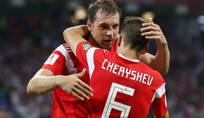 Дзюба и Черышев попали в номинацию на лучший гол чемпионата мира-2018