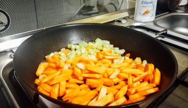 Skābētu gurķu zupa ar nierēm