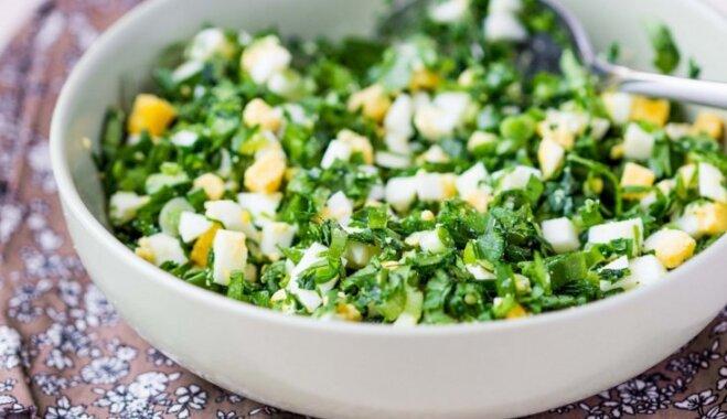 Veselīgi un spirdzinoši salāti, kas nāks tikai par labu tavai figūrai