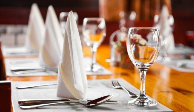 Noskaidroti šāgada labākie Latvijas restorāni