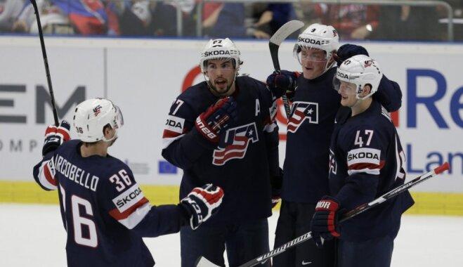 ASV olimpiskajā izlasē iekļauti pārsvarā Eiropā spēlējošie hokejisti un četri studenti