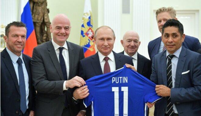 """Президент ФИФА: """"ЧМ в России — новый эталон организации футбольного турнира"""""""