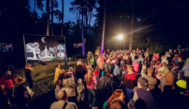 Dzintaru mežaparkā Jūrmalā notiks nakts ekspedīcija bērniem 'Nestāsti pasaciņas'